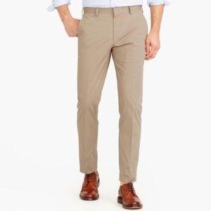J Crew Slim Bedford Dark Khaki Dress Pants